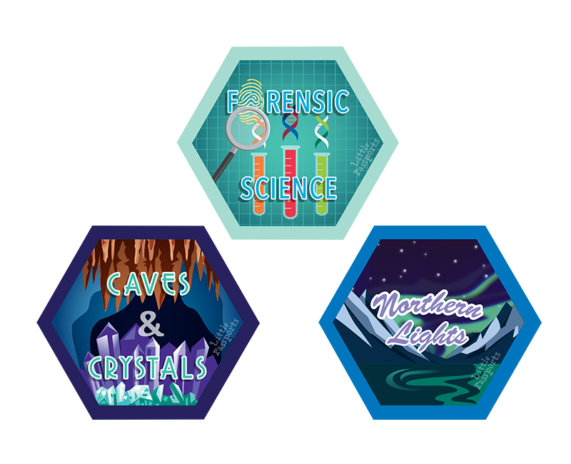 Forensics, Caves And Crystals, Northern Lights Science Experiment Kits For Kids