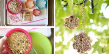 Easy Homemade Birdfeeder Craft