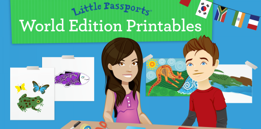 World Edition Printables