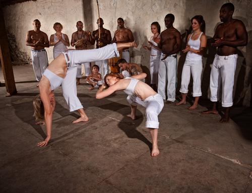 Capoeira in Brazil