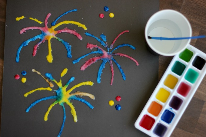 Fourth of July Firework Craft