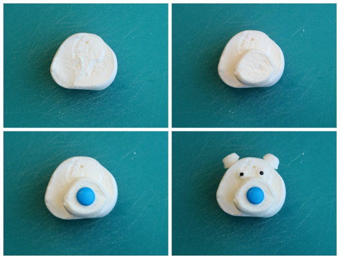 polar bear marshmallow