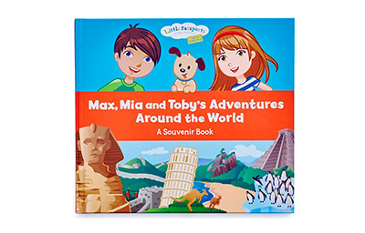 Souvenir book cover