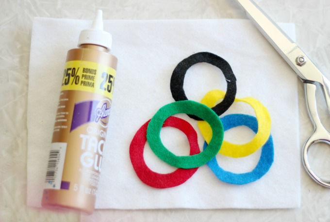 Supplies for olympic craft