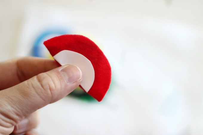 Red ring for Olympic craft