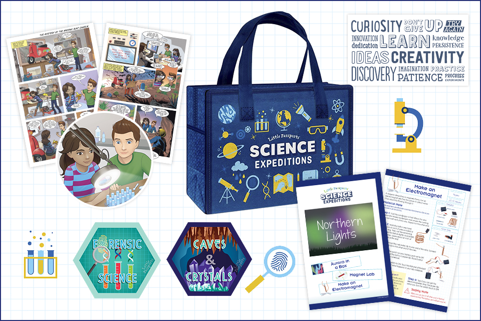 Little Passports Science Expeditions array