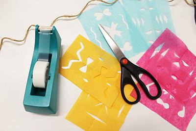 supplies for papel picado