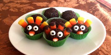 Turkey Brigadeiro Kids Thanksgiving Dessert Recipe