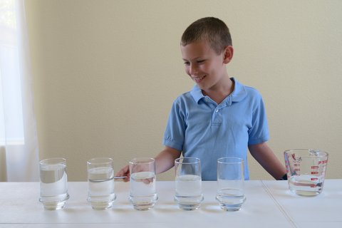 Water Glass Xylophone Glasses with Water