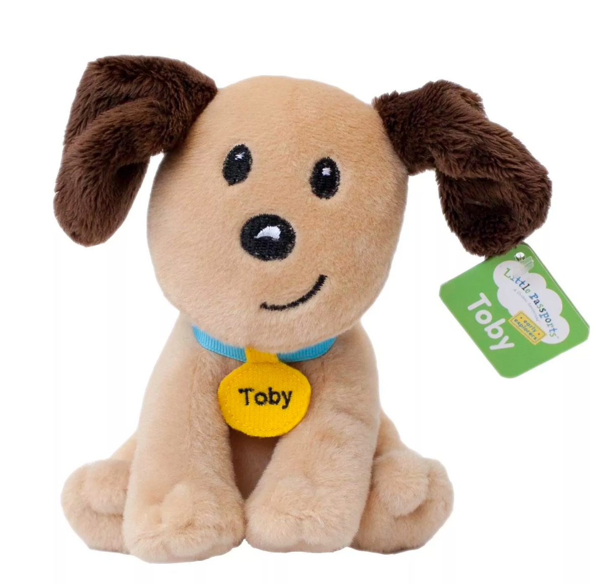 Toby plush christmas gift and christmas ideas for kids