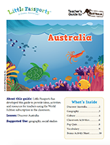Australia social studies guide for elementary grades 1-4