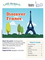 France teacher guide for grades 1-4