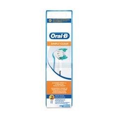 Oral B mondverzorging accessoire Opzetborstel Simply Clean EB17B-2