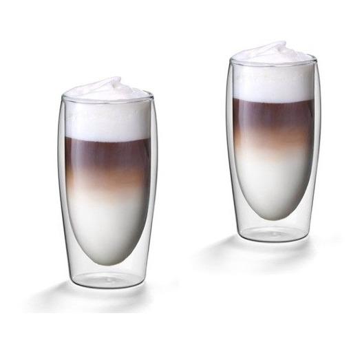 Scanpart koffie accessoire cafe latte thermo glazen A2 35cl