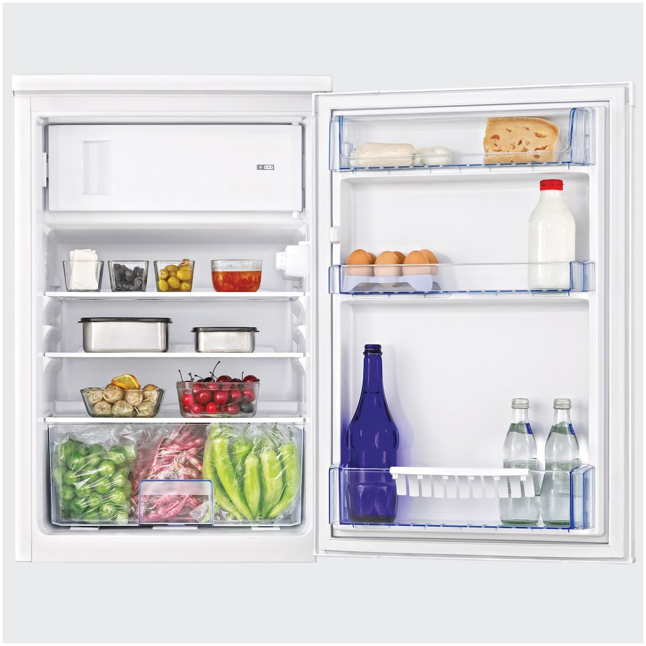 Beko koelkast met vriesvak TSE1284 - Prijsvergelijk