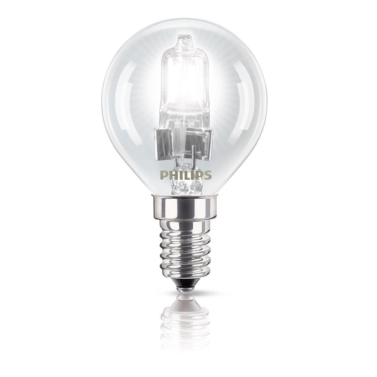 Philips halogeenlamp E14 28W 370Lm kogel