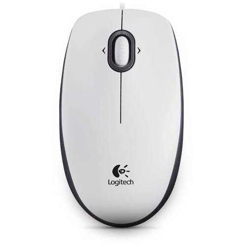 B100 Optical USB Mouse white OEM