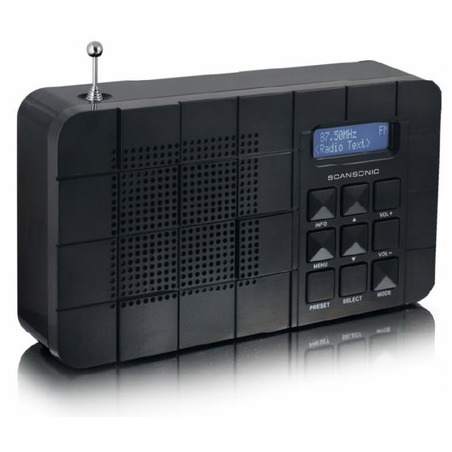 Tangent dab radio SCANSONICDA18BL