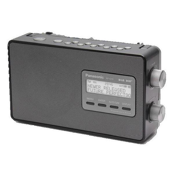 Panasonic dab radio RF-D10EG-K zwart