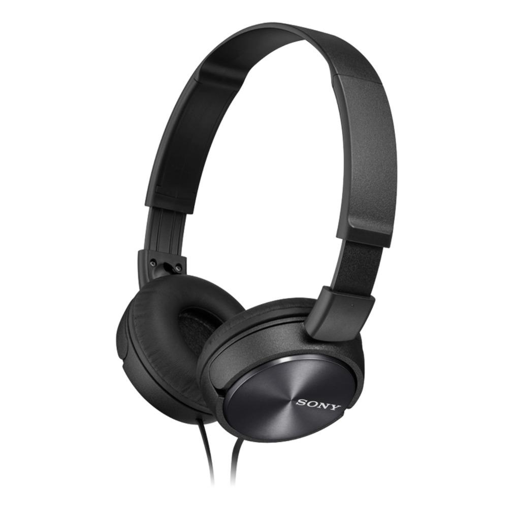 MDR-ZX310AP on-ear hoofdtelefoon, Zwart