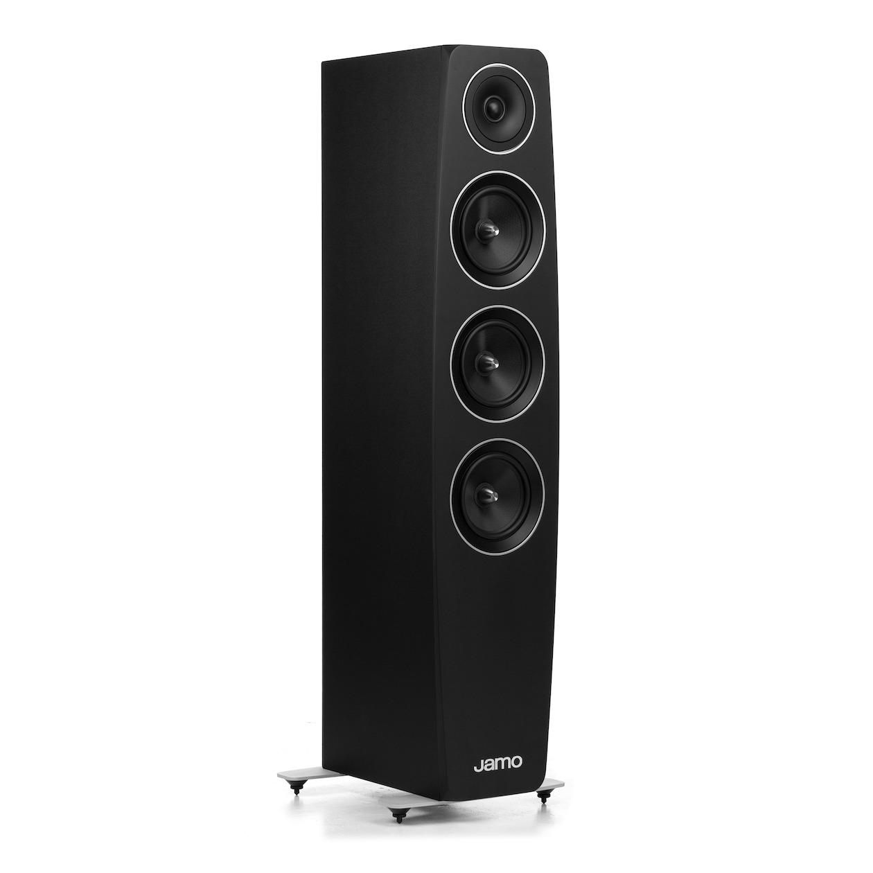 Jamo vloerstaande speaker C 97 zwart kopen