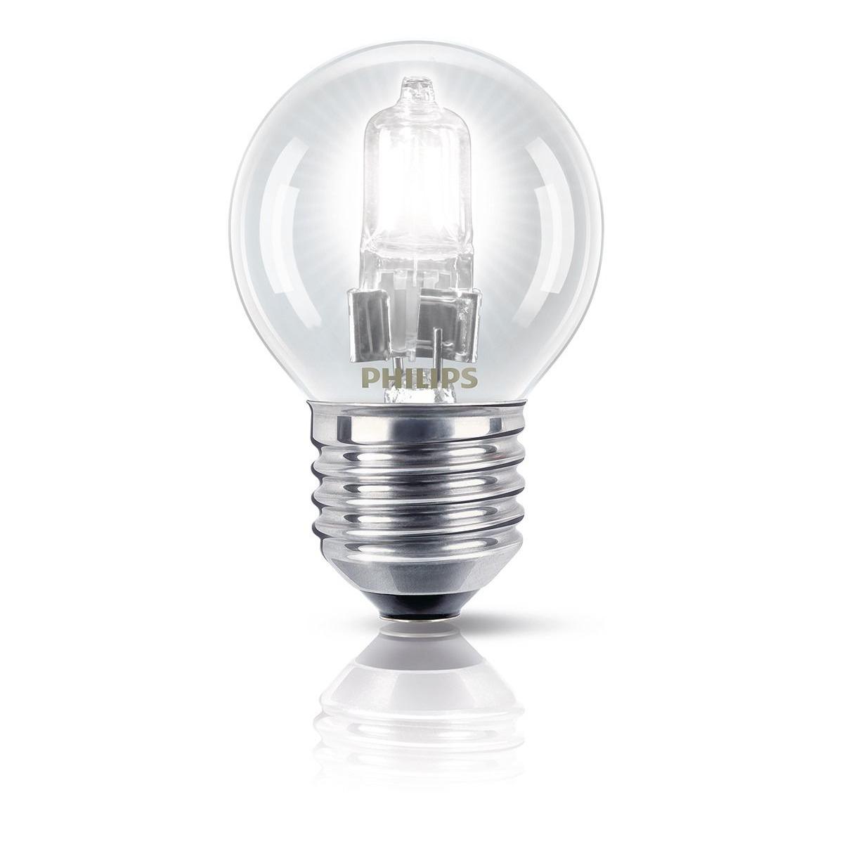 Philips halogeenlamp E27 42W 630Lm kogel