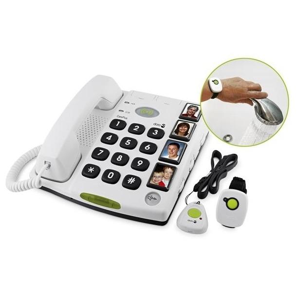 Doro dect telefoon Care SecurePlus 347 wit
