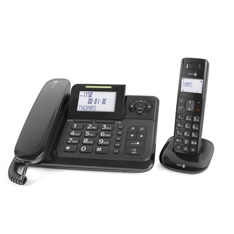 Doro dect telefoon Comfort 4005 zwart