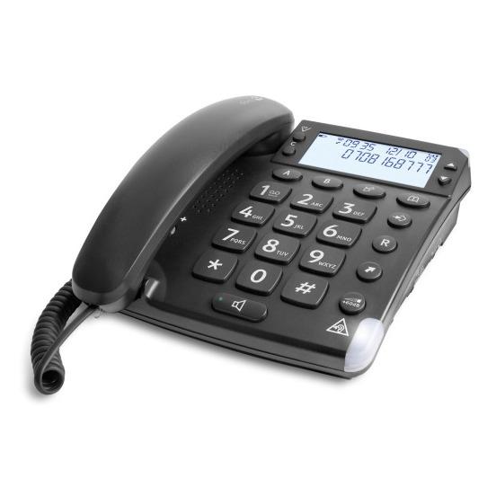 Doro dect telefoon Magna 4000 zwart