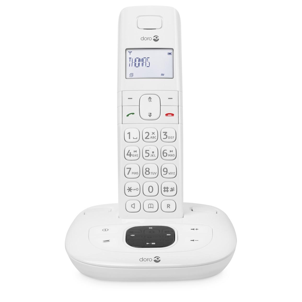 Doro dect telefoon Comfort 1015 wit