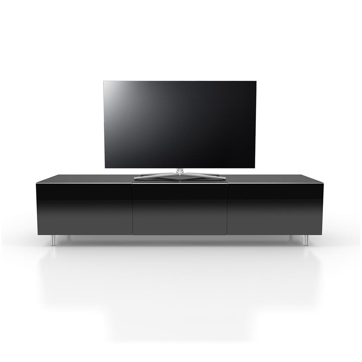 Afbeelding van Just Racks tv meubel JRL1650S-BG zwart
