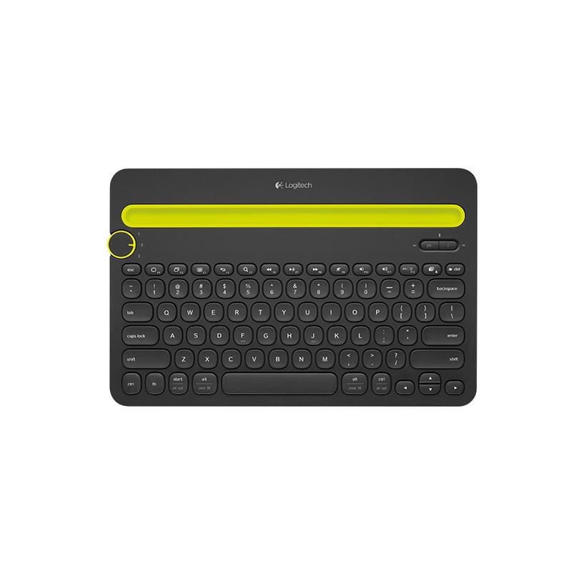 Logitech toetsenbord K480 zwart