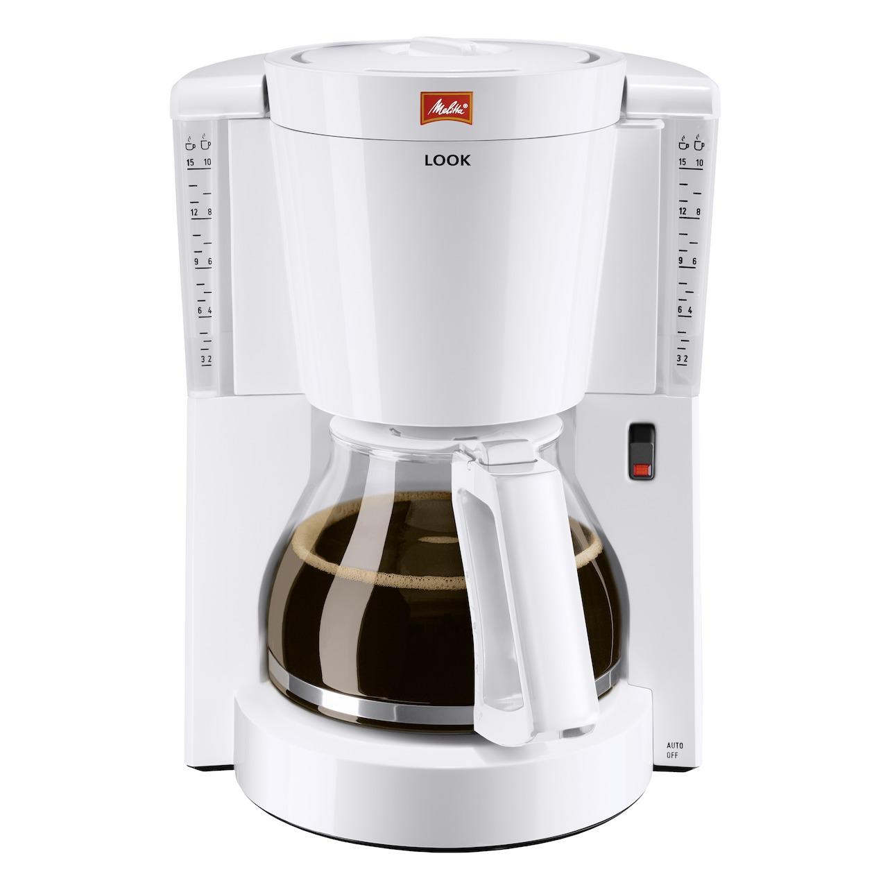 Melitta koffiefilter apparaat Look IV wit