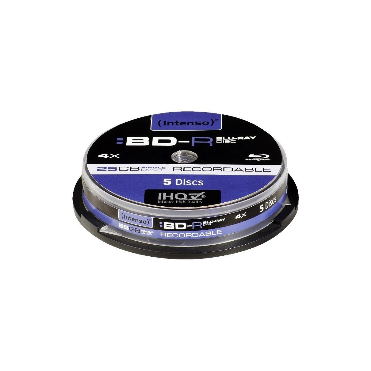 Intenso Blu-Ray 25GB 4x - 5 stuks