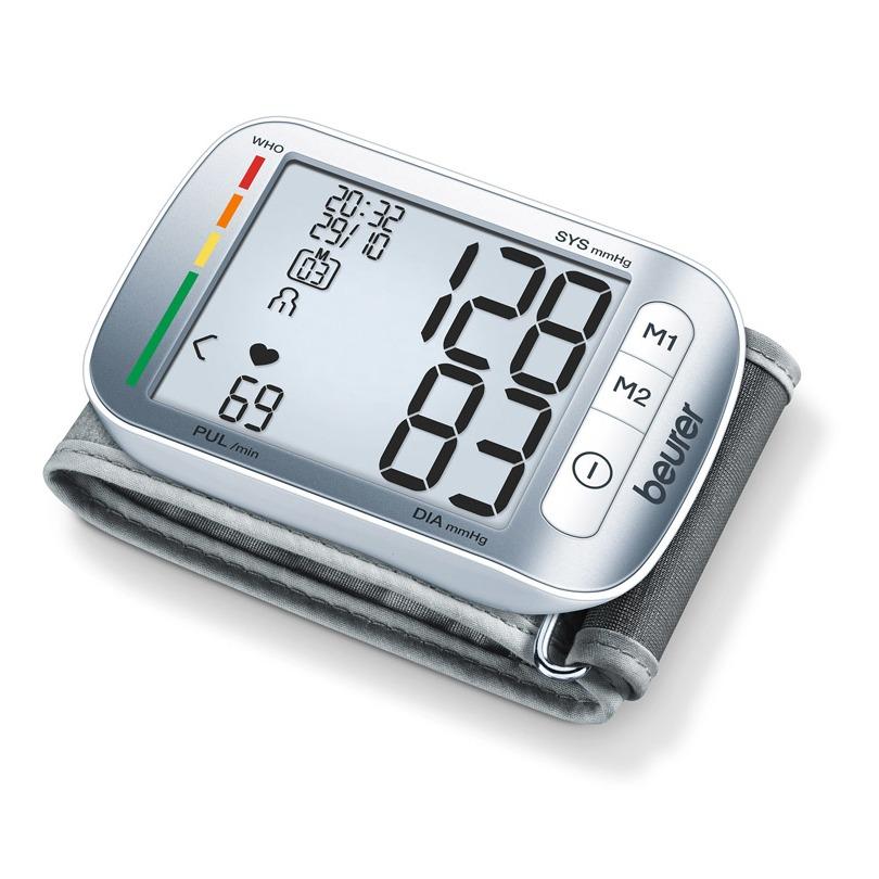 Beurer bloeddrukmeter BC 50 grijs