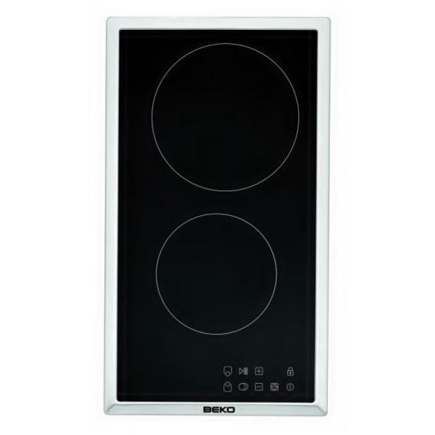 Beko keramische inbouwkookplaat HDMC32400TX