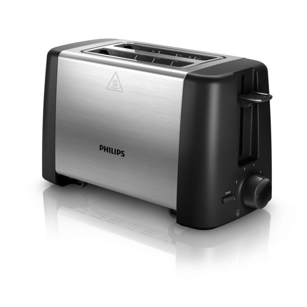 Philips HD4825/90 zwart/rvs