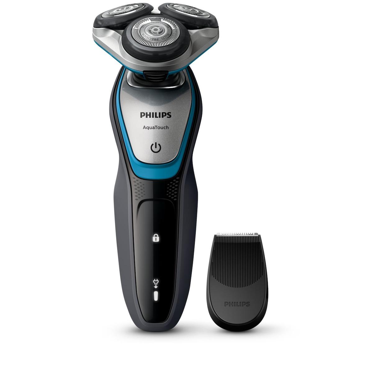 Philips scheerapparaat S5400/06 zwart/blauw