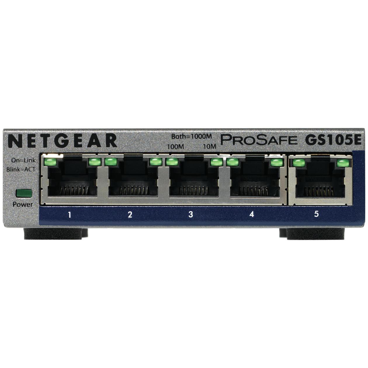 Netgear switch ProSafe Plus GS105E