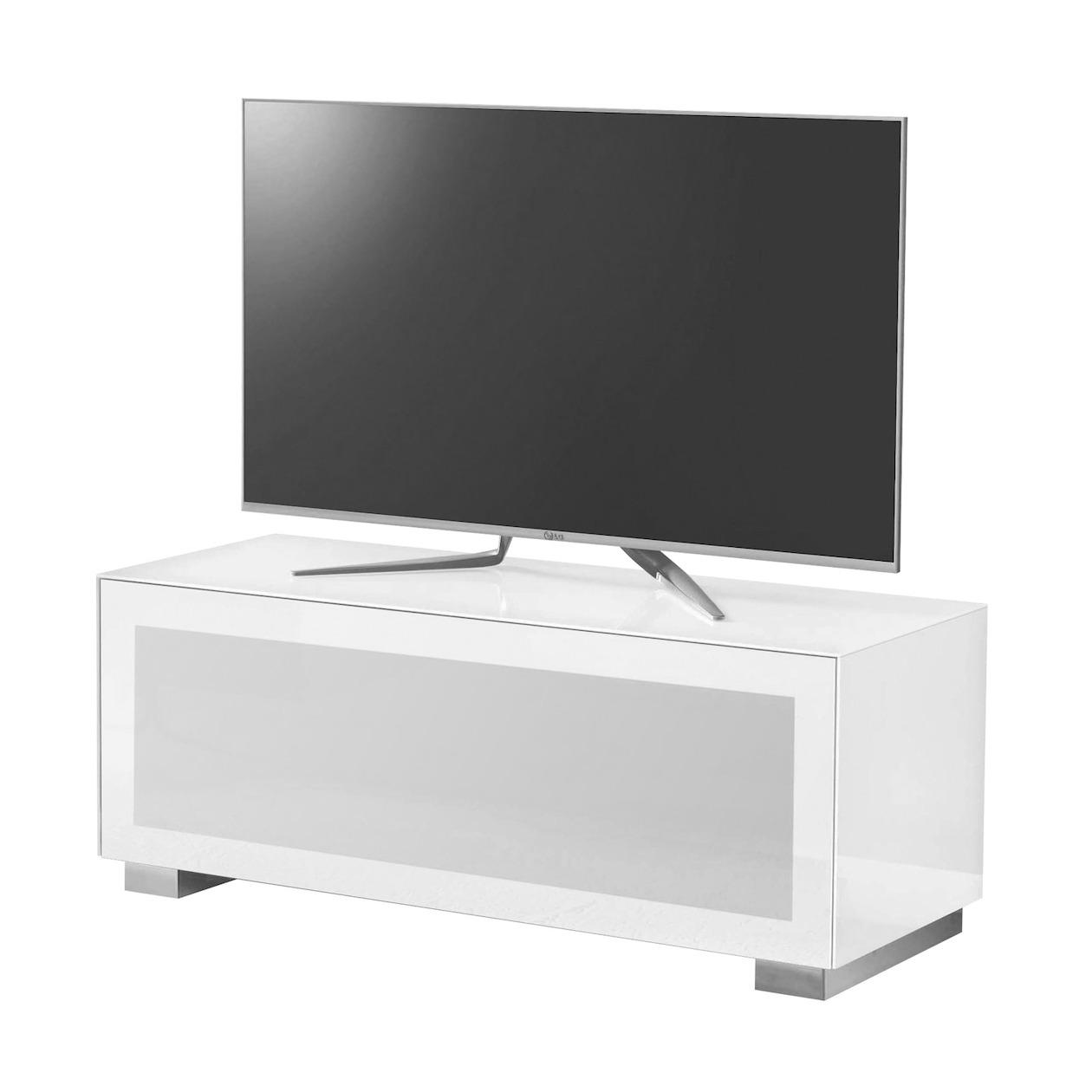 Afbeelding van Aldenkamp tv meubel MG125 BI BI wit
