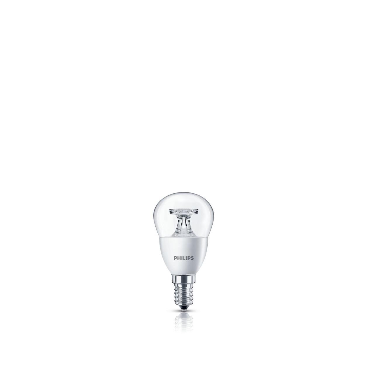 Philips LED lamp E14 4W 250Lm kogel helder