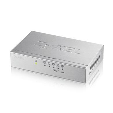 Zyxel switch externe 5 poorts Gigabit switch zilver