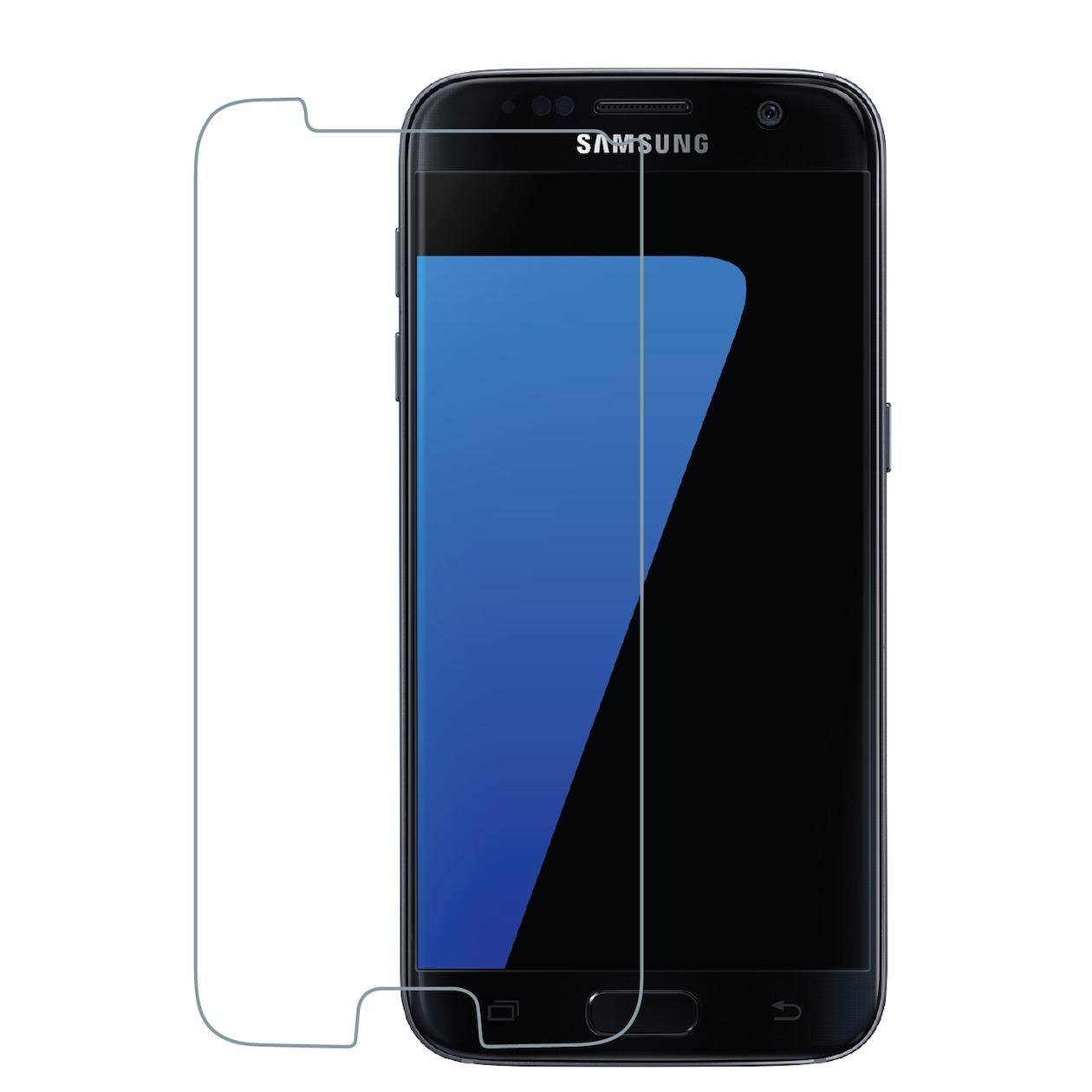 Azuri smartphone screenprotector Tempered Glass Screen Protector voor Samsung Ga