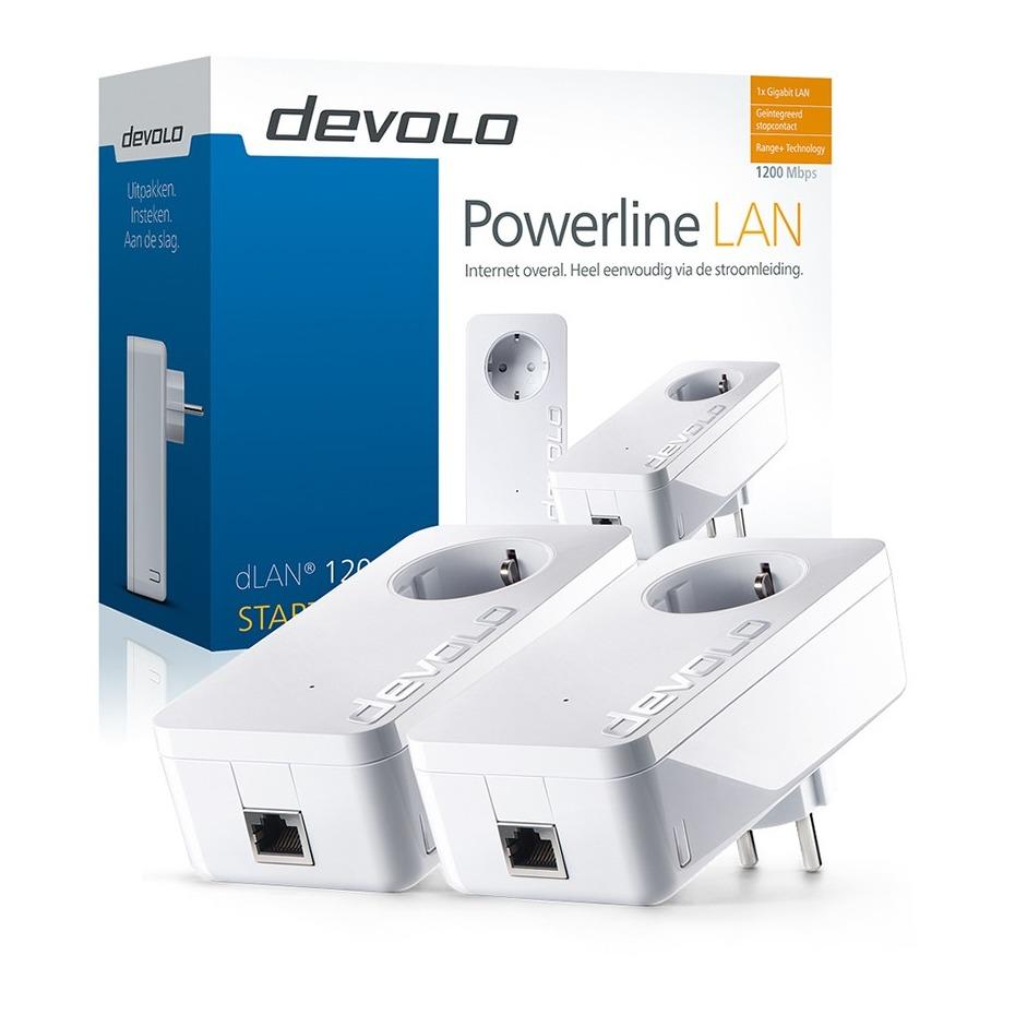 Devolo powerline 1200+ Starter Kit Powerline