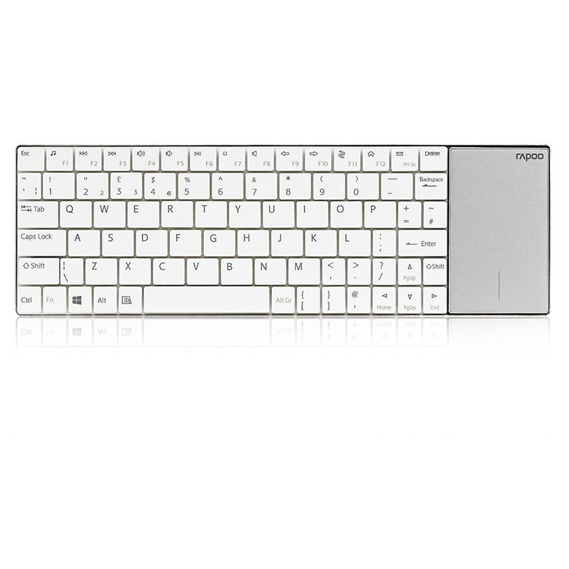 Rapoo toetsenbord E2710 (US) wit