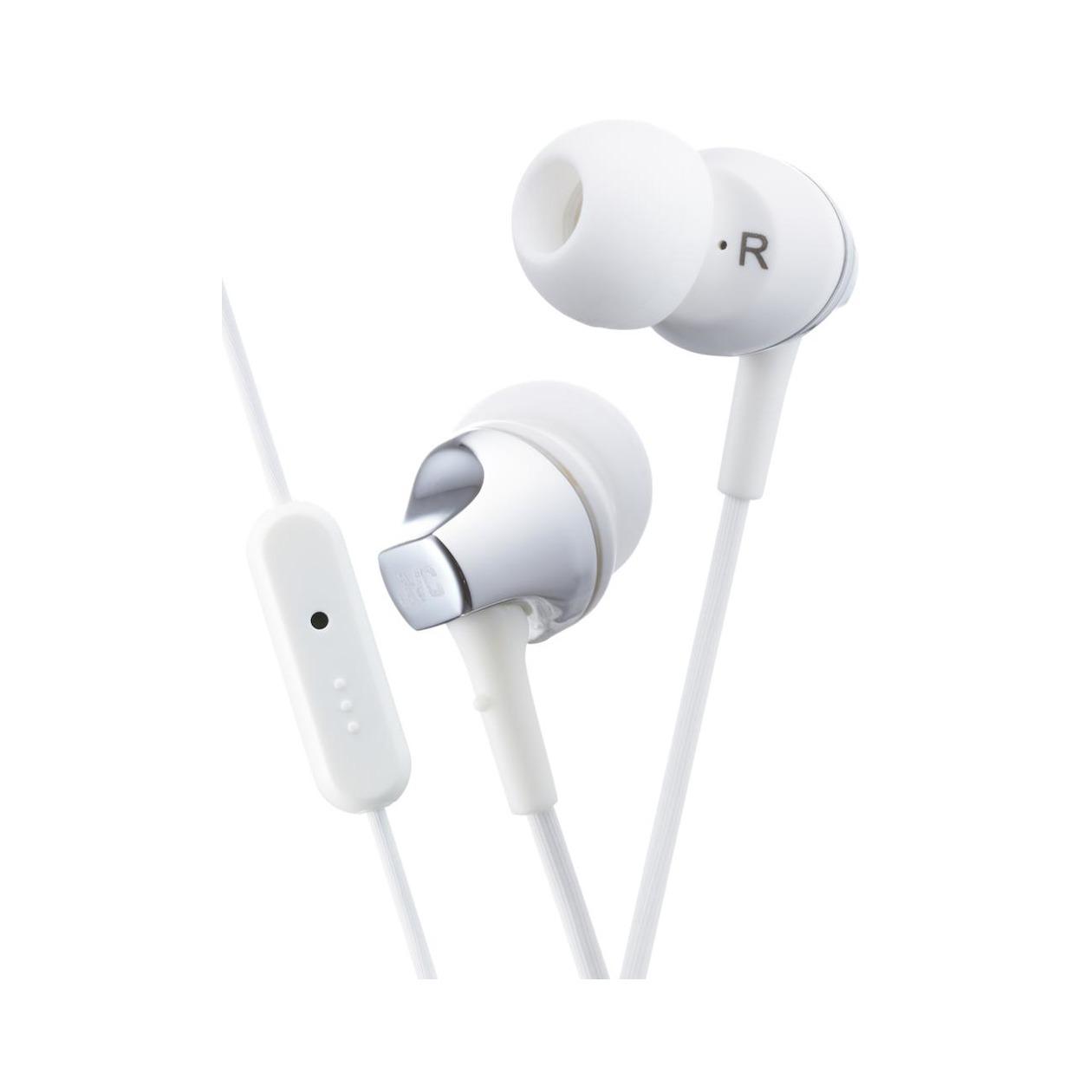 JVC in-ear oordopjes HA-FR325-WE wit