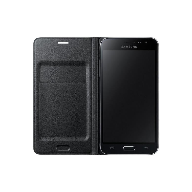 Samsung Flip Wallet - voor Galaxy J3 zwart