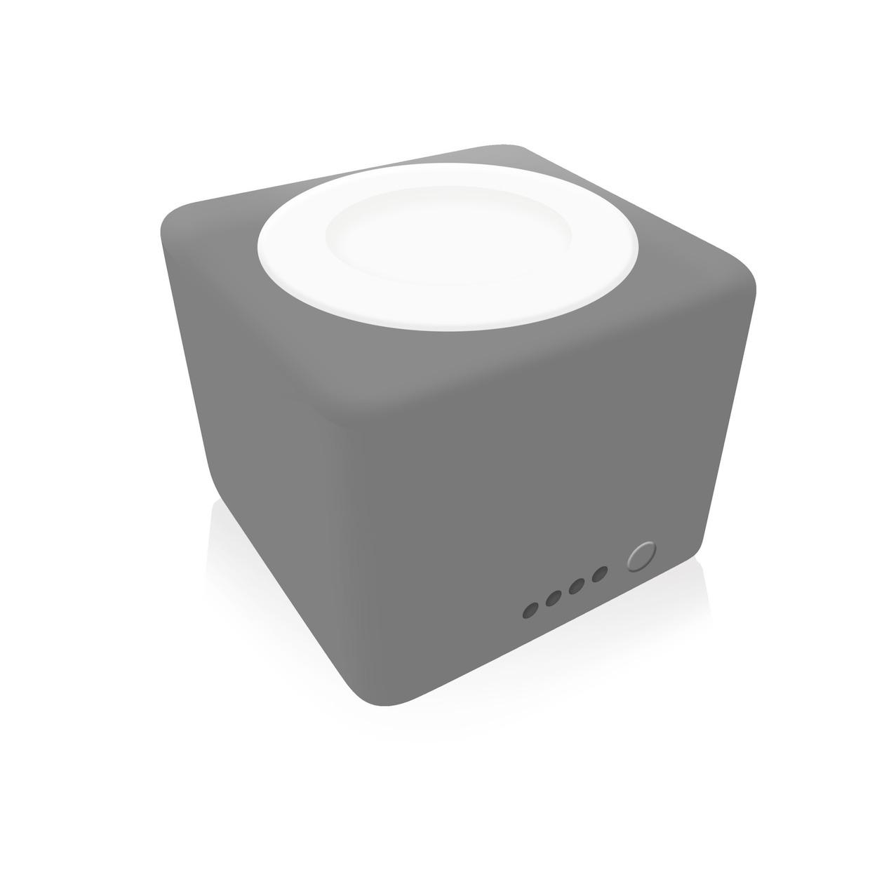 Zens Apple Watch Qi Powerbank 1300mAh zwart
