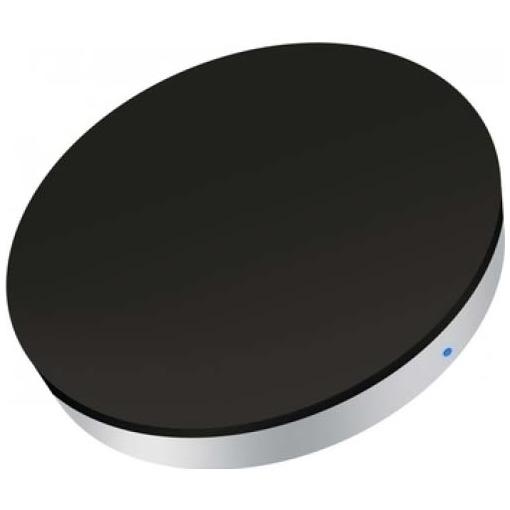 Zens Mini Single Qi Draadloos Laadstation met inductie zwart