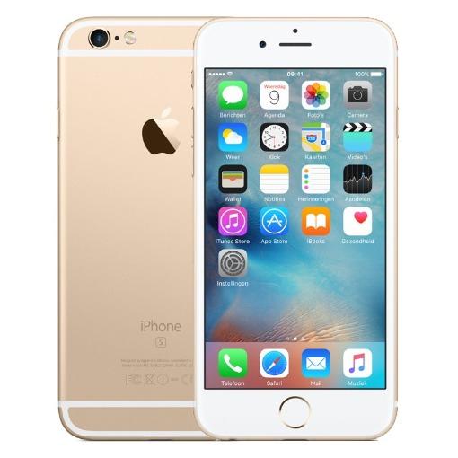 Apple smartphone iPhone 6S (128GB) goud